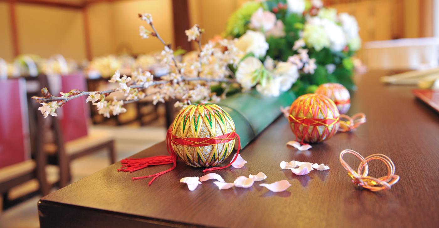 京都で和風でする料亭結婚式の画像