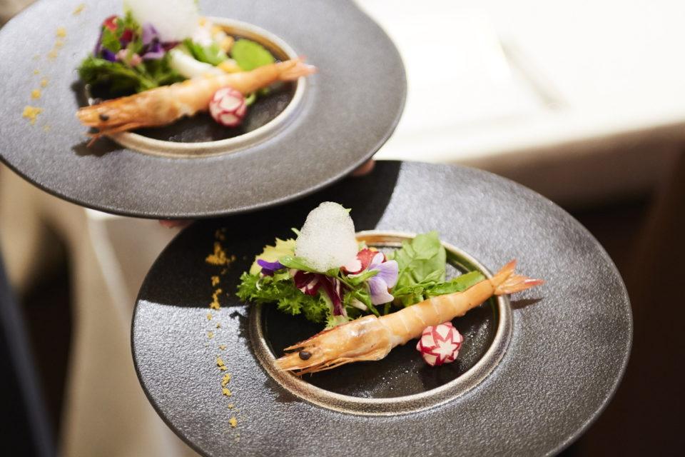 ヴォヤージュ・ドゥ・ルミエール京都七条迎賓館 京野菜を使用したお二人の為だけの完全オリジナルキュイジーヌ