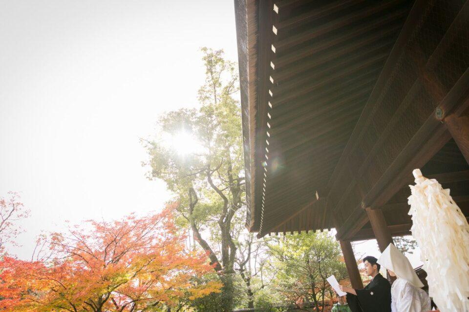 神社婚 京都