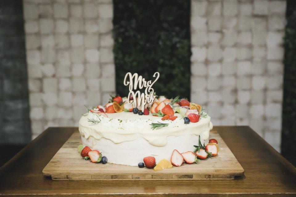 まさひろ&まどかウェディングパーティーレポート こだわりのウェディングケーキ