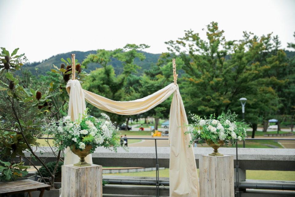 モダンテラス結婚式テラス
