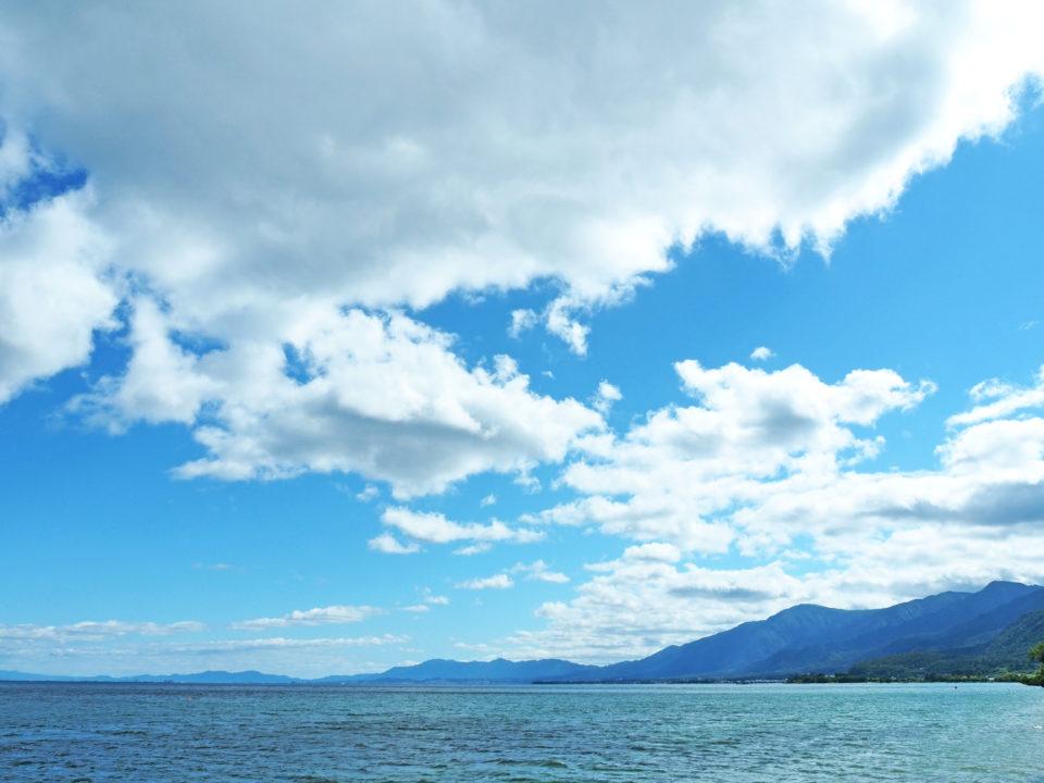 琵琶湖ウェディングの魅力、大自然のローケーション画像