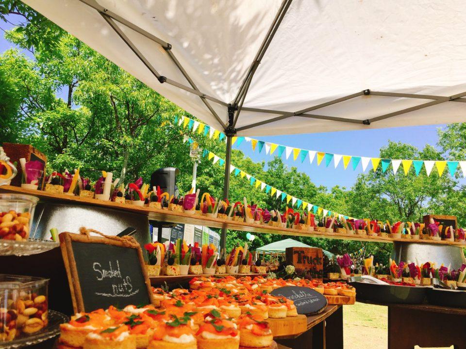 琵琶湖ウェディング、オシャレ料理