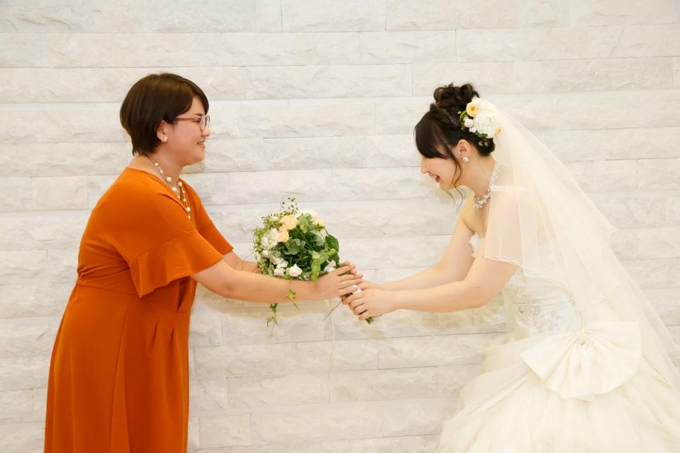結婚式を通して友人への幸せのバトン
