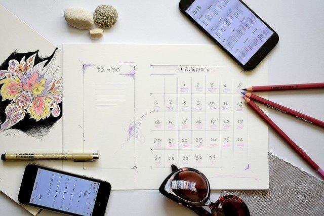 ブライダルフェアのスケジュールの組み方