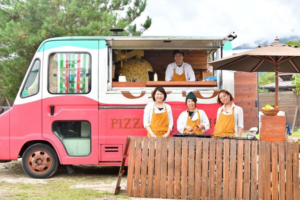 結婚式 ケータリング キッチンカー
