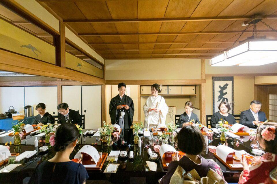京都 結婚式 料亭